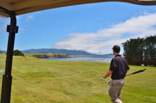 Pebble Beach golf course 4