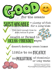 Good for the Ocean Resource Page - Sustainable Seafood Made Simple by Living Porpoisefully