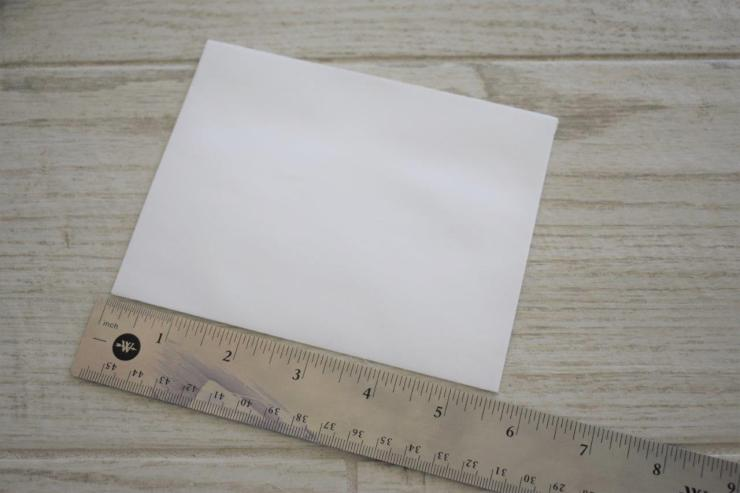 DIY Coastal Notecards - 1 measure envelope