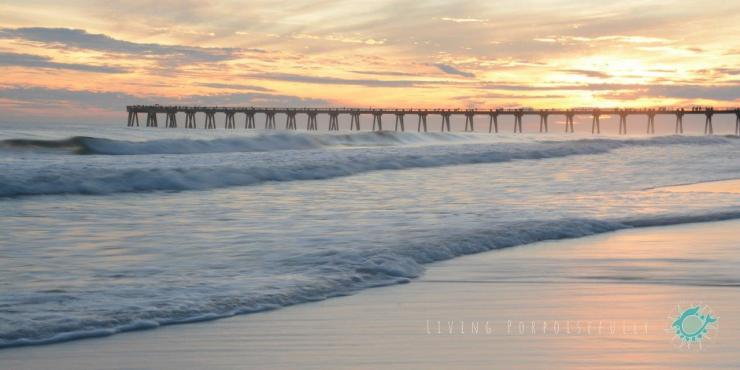 Sunset Navarre Beach Pier Nature Photography Living Porpoisefully 4