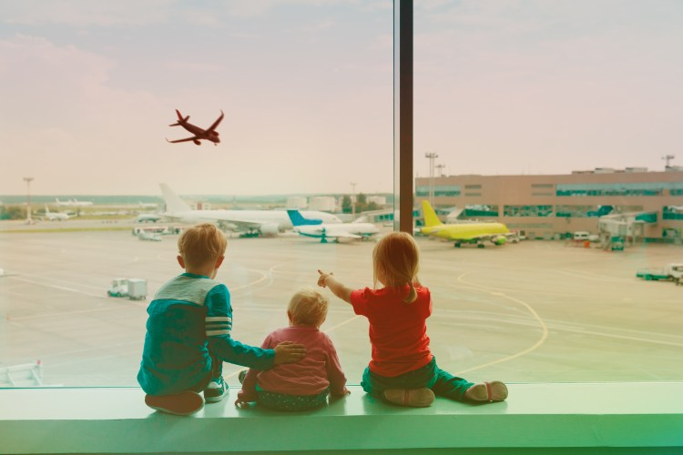 Tips for travelling long haul with children