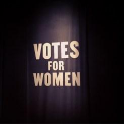 Suffragette Exhibit @ MOL