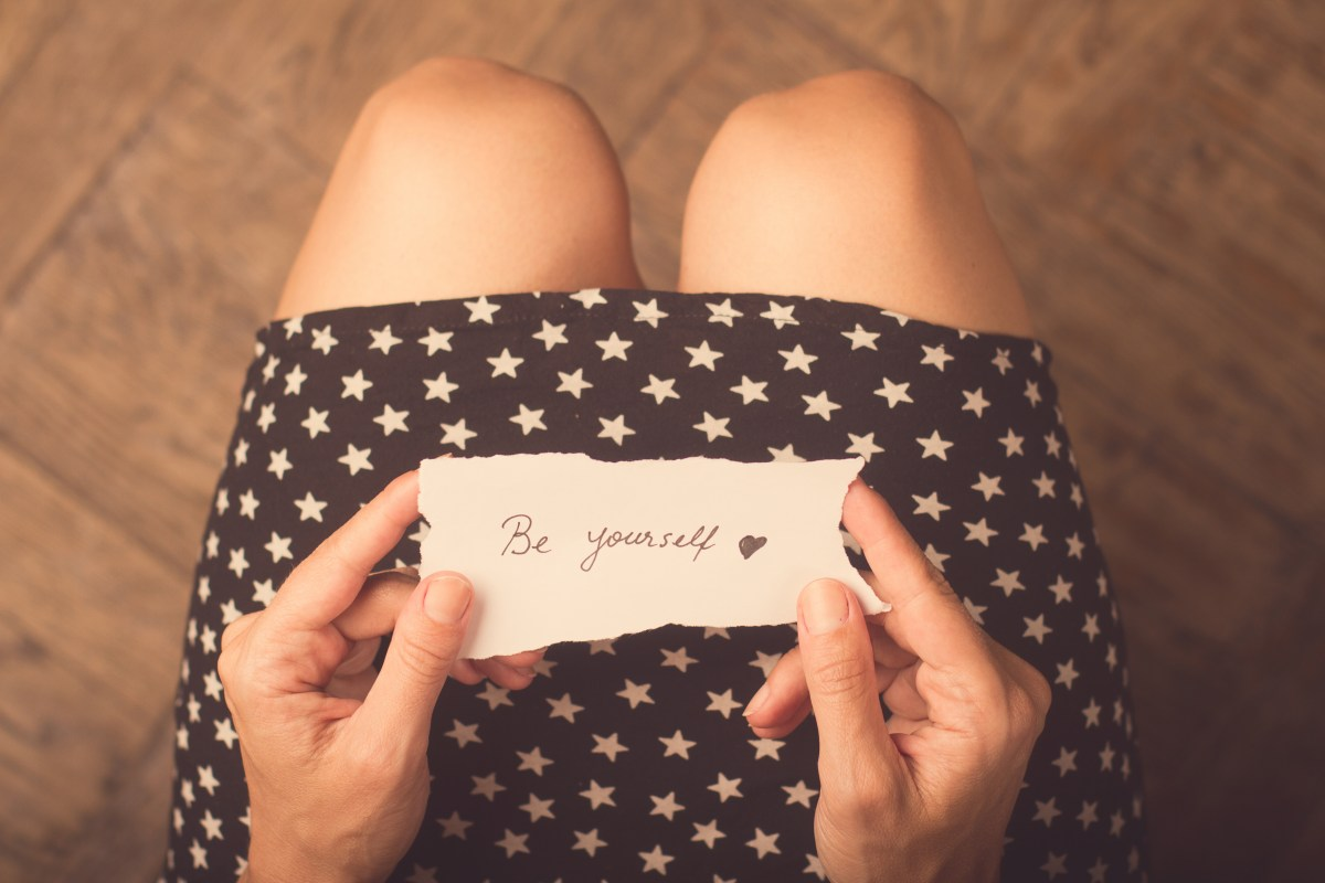 Being you: The importance of being true to yourself