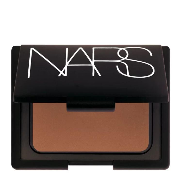Recommended: NARS Bronzing powder. Image of NARS Bronzing Powder in Laguna on a white background