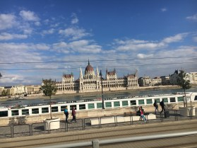 48 hours in Budapest: Image of the Parliament building seen from the Buda side of the river