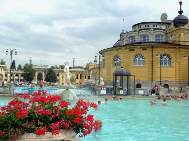 48 hours in Budapest: Image of exterior of Szecheny Spa
