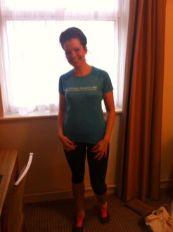 Why I run. Image of Alex Grace smiling in running gear