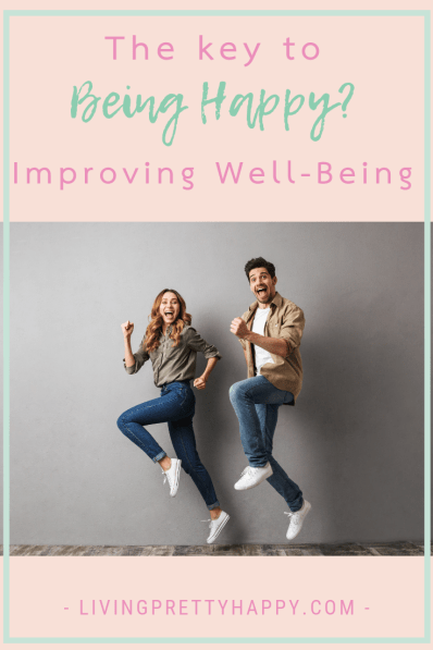 April Well-Being Focus: Happiness. The key to being happy? Improving well-being #improvingwellbeing #wellbeing #happiness