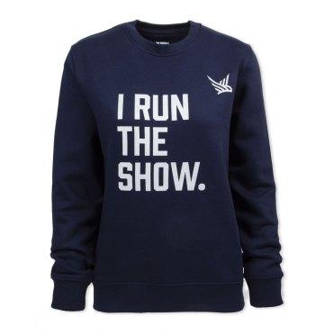 This Mum Runs I run the show sweatshirt
