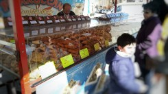 10 things you should know about Malta. Going to Malta - 10 things you should know. Image of a confectionery stall at Marsaxlokk market