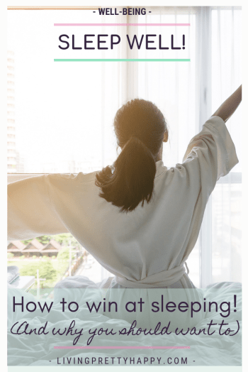 Sleep well: how to win at sleeping (and why you should want to) How to get a good night's sleep. Sleep awareness. Sleep Optimisation. Sleep better tips and advice. Products to help you sleep better. The benefits of sleep #sleep #sleepbetter #sweetdreams