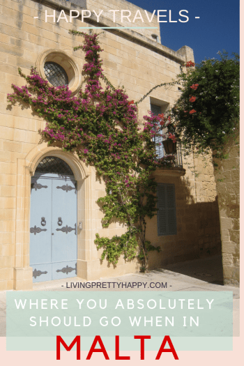Happy Travels: Where you absolutely should go in Malta. Things to do in Malta. Top 3 places to visit in Malta. What to do when on holiday in Malta. #malta #travel #thingstodoinmalta #visitmalta