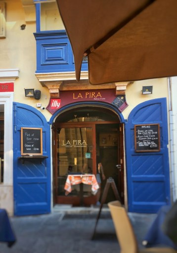 Happy Travels: Where you absolutely should go in Malta. Image of entrance to La Pira Valletta