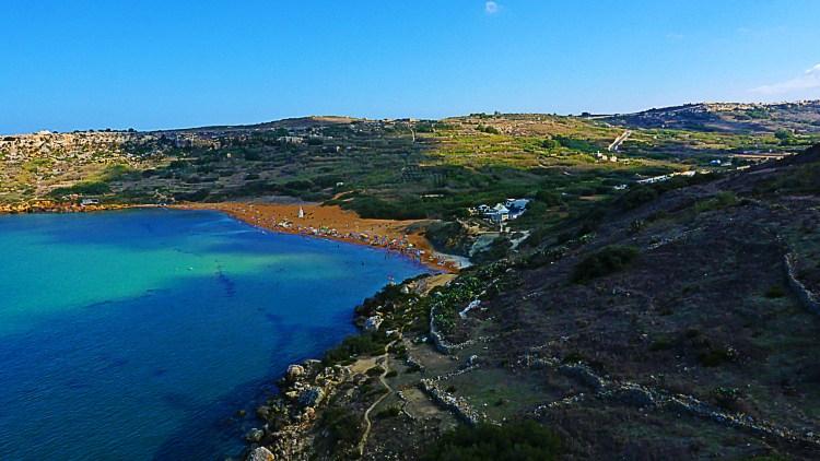 Ramla Bay Gozo © viewingmalta.com iptc_credit Jürgen Scicluna