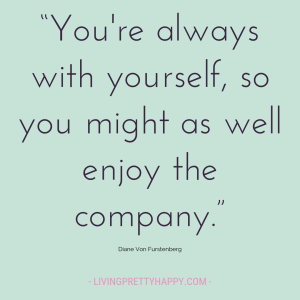 Diane Von Furstenberg Quote on self-acceptance