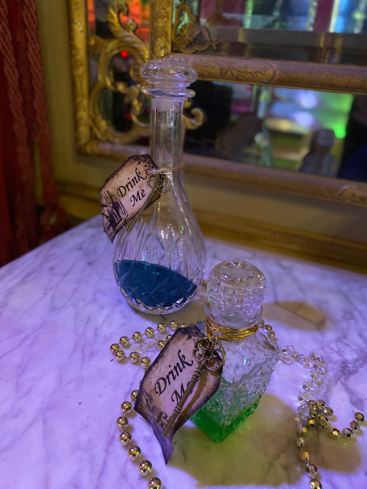 Drink Me Bottles - Alice in the Palace Experience