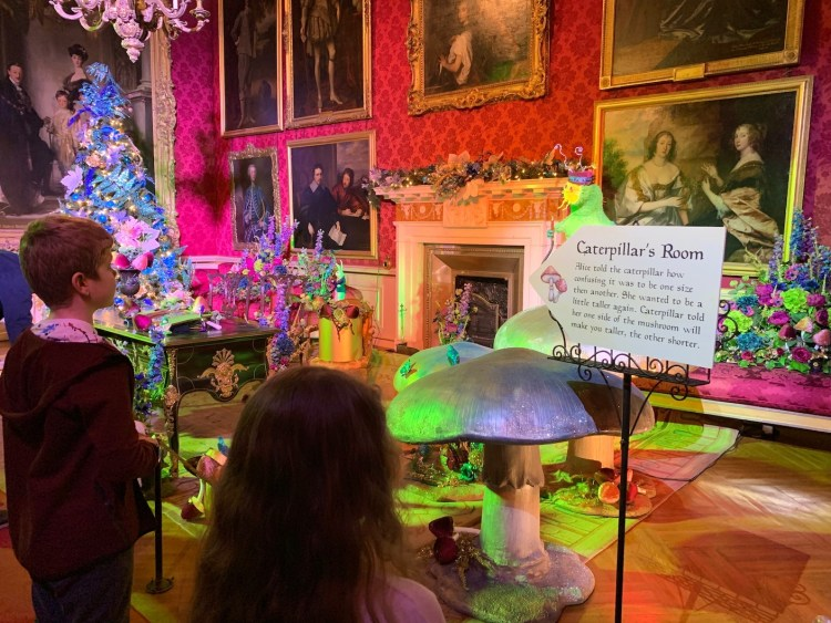 The Caterpillar's Room from the Alice in the Palace Experience, Blenheim Palace