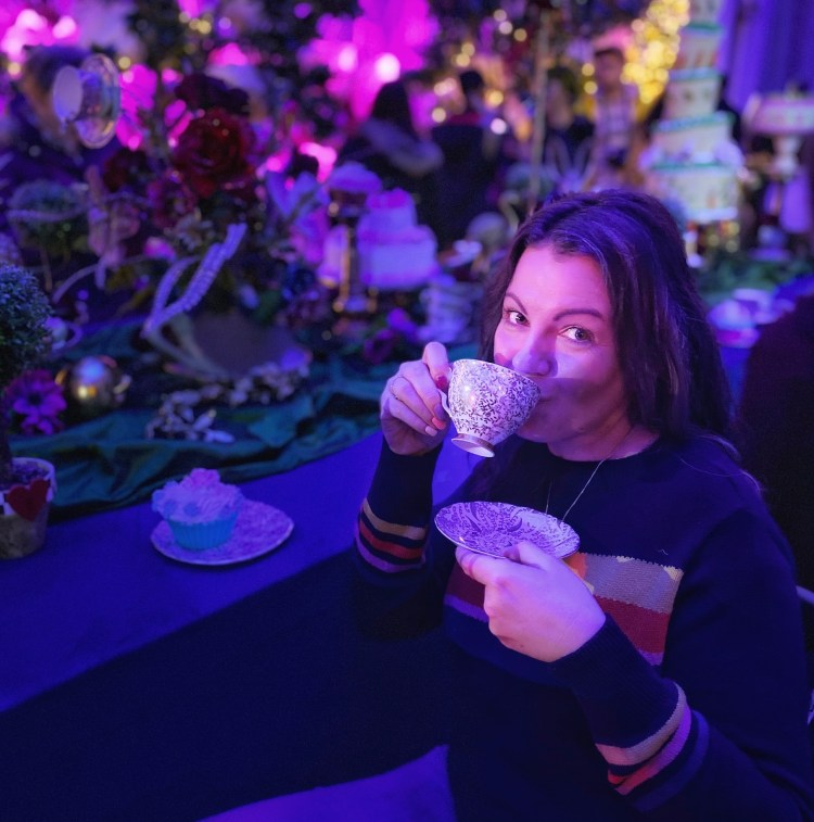 Alex Grace at the Alice in the Palace Experience Blenheim Palace