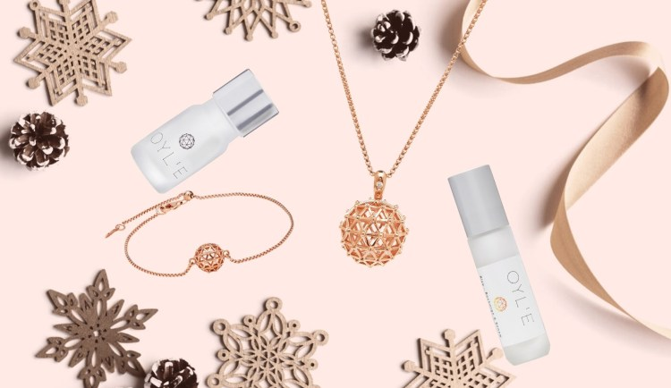 well-being and beauty gifts - OYL'E Aromatherapy jewellery