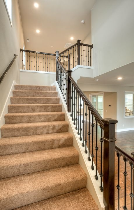 Thrifty Stair Railing Redo Living Rich On Less | Bannister Rails For Stairs | Pipe | Build Stair | Deck | Outdoor | 5 Step