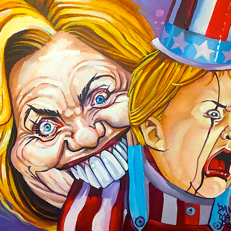 Hillary Study by Dave MacDowell