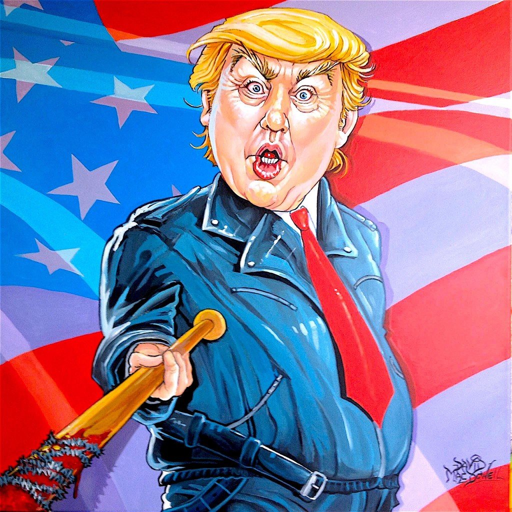Negan Trump by Dave MacDowell