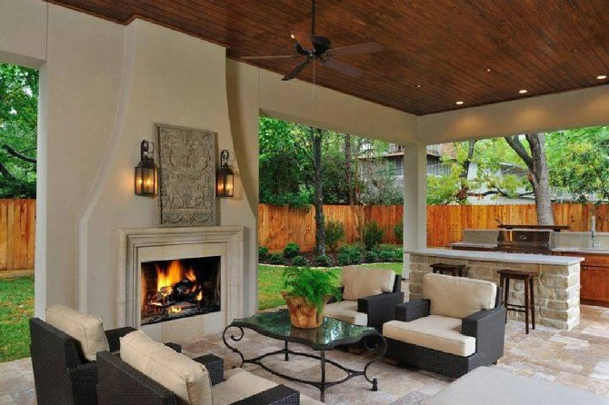 Summer Ideas: Get Your Own Outdoor Living Room on Backyard Lounge Area Ideas id=59398