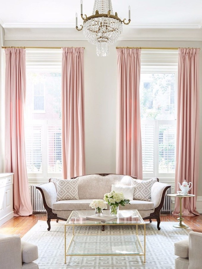 Light Pink Living Room Ideas | Americanwarmoms.org