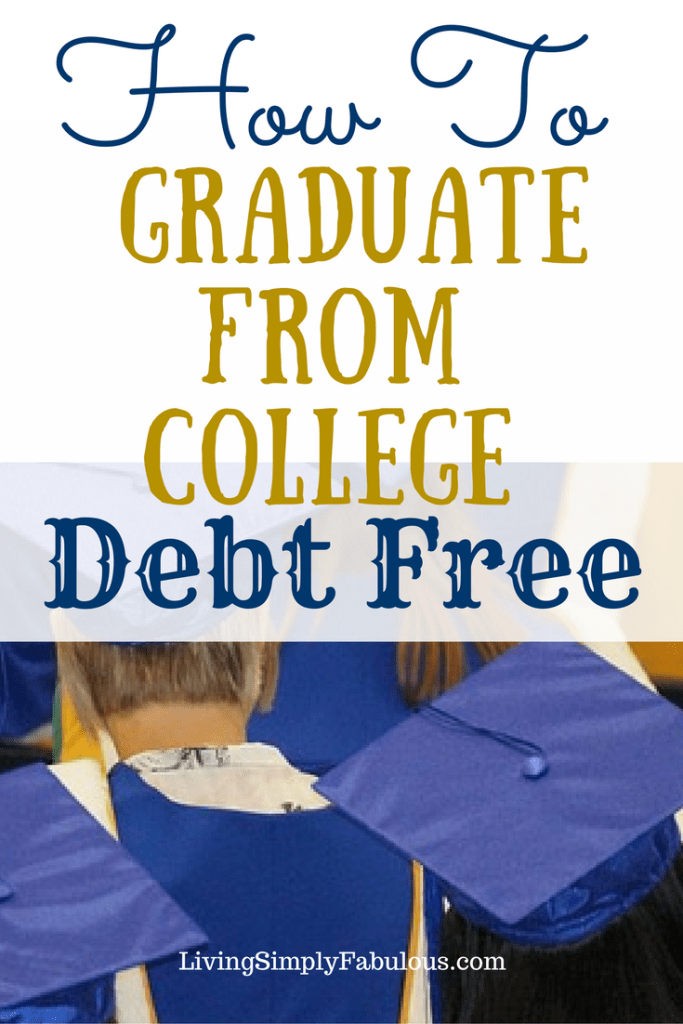 Earn a degree without debt. Getting a college degree can be expensive. You can get an education without getting into a lot of debt.