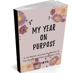 One year undated goal planner for women is the only tool you'll need to meet your goals and crush them. Purchase your My Year on Purpose Goal Planner.