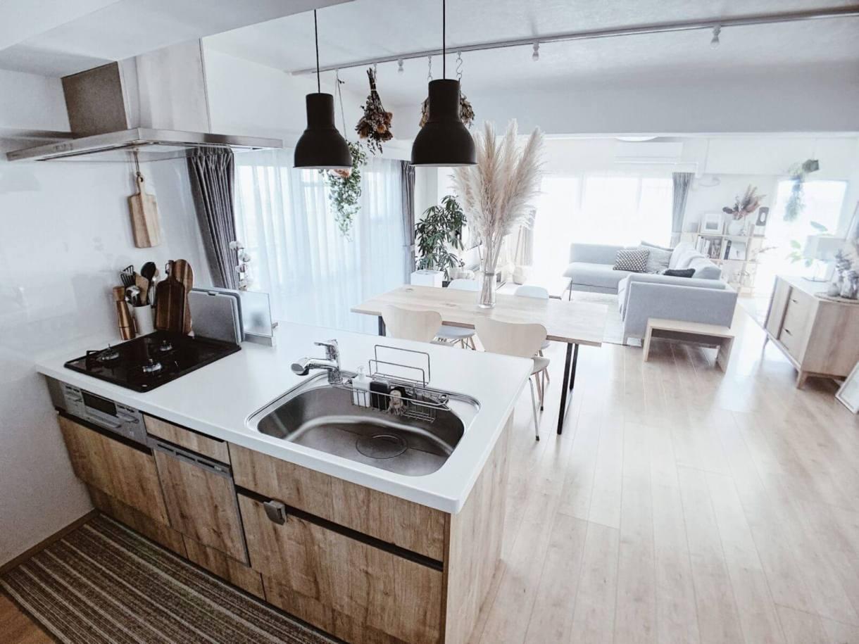 キッチンからの景色