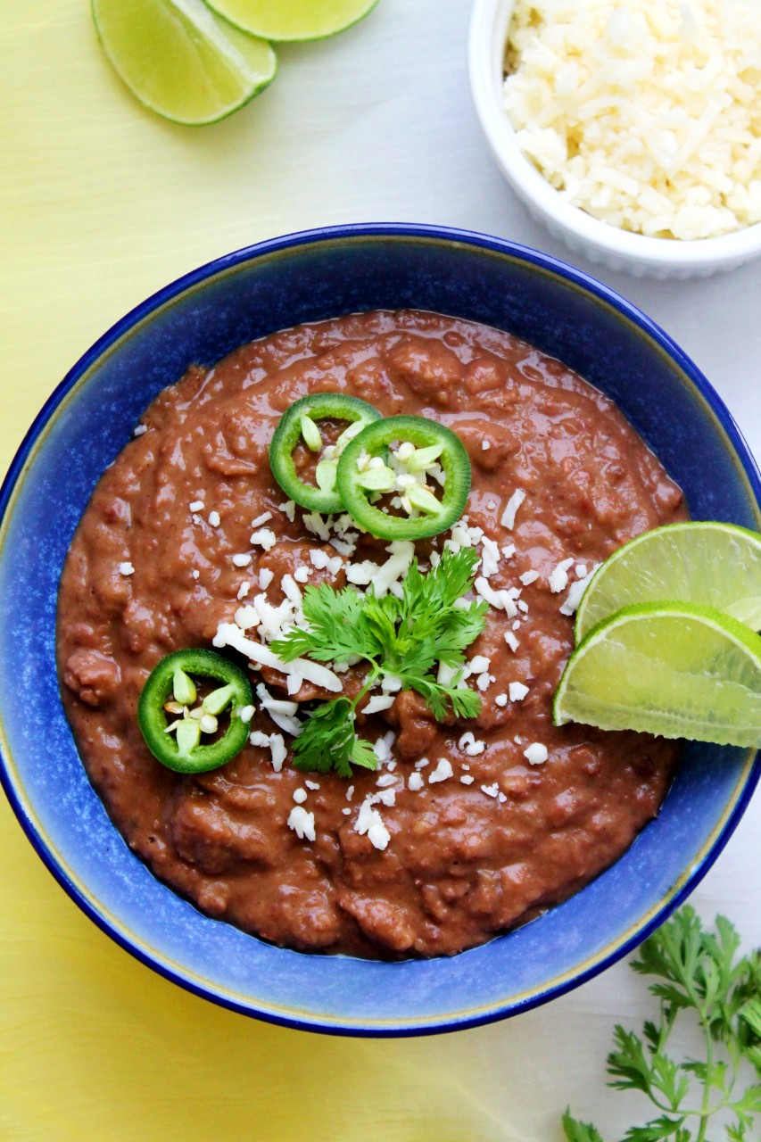 Refried Beans – Instant Pot, Stove Top