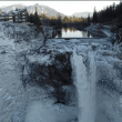 Amazing! Snoqualmie Falls from Unparalleled Vantage Point – Drone Fly Over