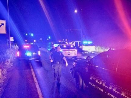 Pursuit of stolen Kent Police vehicle ends with crash at I-90/SR 18