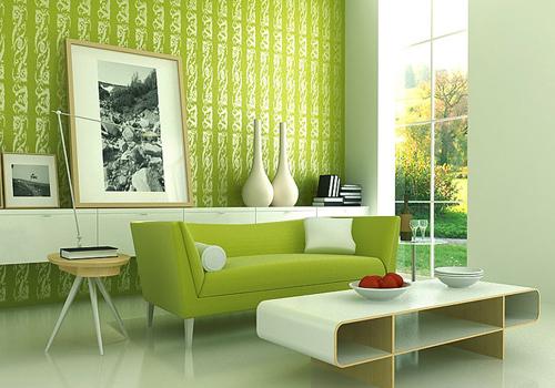 Зеленый цвет в интерьере: общие характеристики | Homy