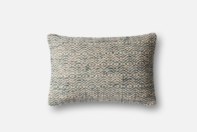 Accent Pillow-Magnolia Home Diamond Grey 13X21 By Joanna
