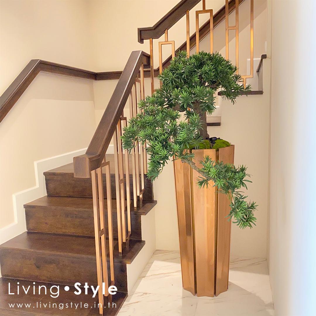 ต้นบอนไซ 1 ตกแต่งบ้าน Livingstyle ดอกไม้ปลอม ต้นไม้ปลอม ดอกไม้ประดิษฐ์ ต้นไม้ประดิษฐ์ ตกแต่งบ้าน สวนแนวตั้ง สวนหย่อม