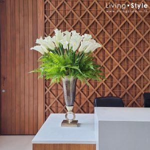 คาลล่า แจกัน ดอกคาลล่า ตกแต่ง ออฟฟิศ %%sep%% Livingstyle ตกแต่งบ้าน แจกันดอกไม้ ดอกไม้ปลอม ต้นไม้ปลอม ดอกไม้ประดิษฐ์ ต้นไม้ประดิษฐ์ สวนแนวตั้ง