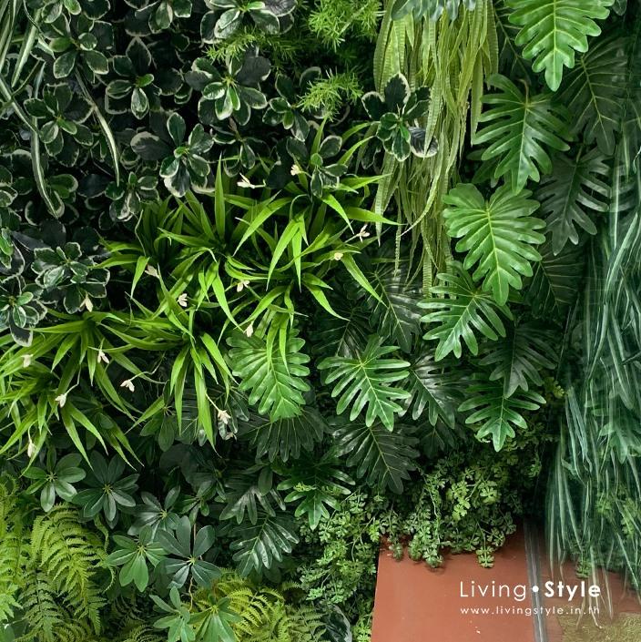 สวนแนวตั้ง โมเดิร์น สไตล์คนเมือง %%sep%% Livingstyle ตกแต่งบ้าน ดอกไม้ปลอม ต้นไม้ปลอม ดอกไม้ประดิษฐ์ ต้นไม้ประดิษฐ์ สวนแนวตั้ง สวนหย่อม จัดสวน