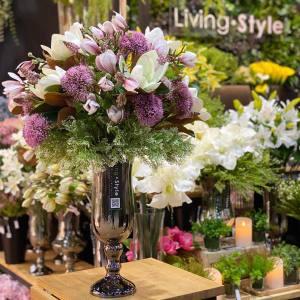 ดอกแมกโนเลีย แจกันดอกแมกโนเลีย แจกันดอกไม้ ดอกไม้ปลอม ดอกไม้ประดิษฐ์