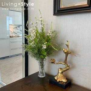 แจกัน ใบไม้ปลอม แต่งบ้าน ตกแต่งโต๊ะทำงาน %%sep%% Livingstyle ตกแต่งบ้าน แจกันดอกไม้ ดอกไม้ปลอม ต้นไม้ปลอม ดอกไม้ประดิษฐ์ ต้นไม้ประดิษฐ์ สวนแนวตั้ง
