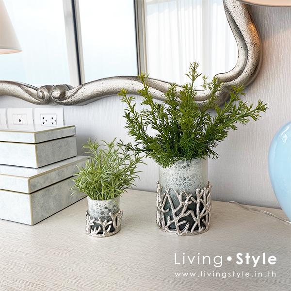 ปริก ต้นปริก แจกันเล็ก Livingstyle ตกแต่งบ้าน แจกันดอกไม้ ดอกไม้ปลอม ต้นไม้ปลอม ดอกไม้ประดิษฐ์ ต้นไม้ประดิษฐ์ สวนแนวตั้ง สวนหย่อม