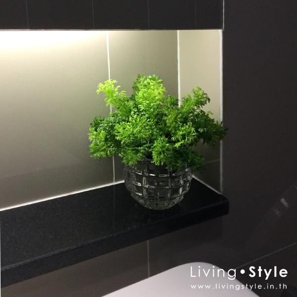 แจกันเล็ก แจกันจิ๋ว แจกันใบไม้ ห้องน้ำ โต๊ะโซฟา %%sep%% Livingstyle ตกแต่งบ้าน แจกันดอกไม้ ดอกไม้ปลอม ต้นไม้ปลอม ดอกไม้ประดิษฐ์ ต้นไม้ประดิษฐ์