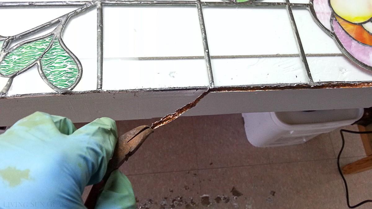 removing copper foil