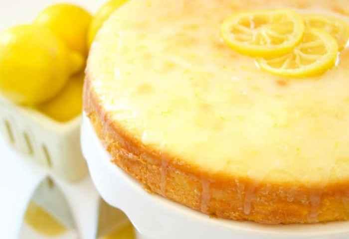 Moist Lemon Cake Recipe Living Sweet Moments