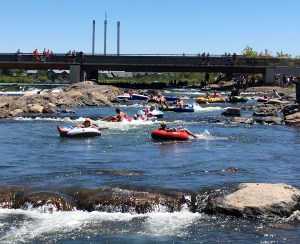 Floating the River in Bend