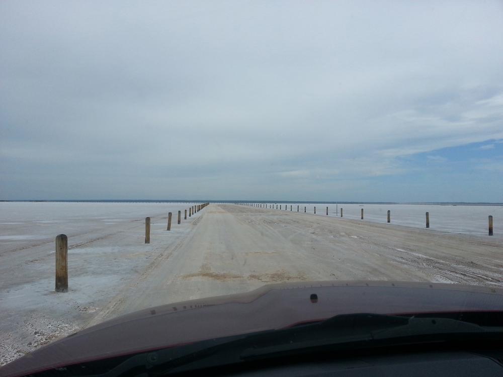 Digging the Great Salt Plains