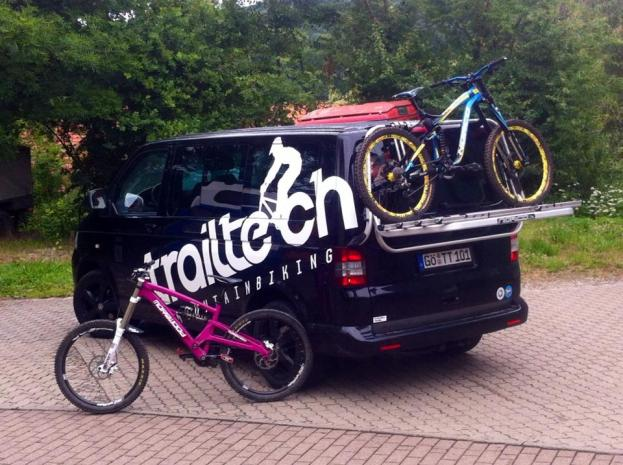 Trailtech Mobile + Morewood Izimu + Norco Aurum