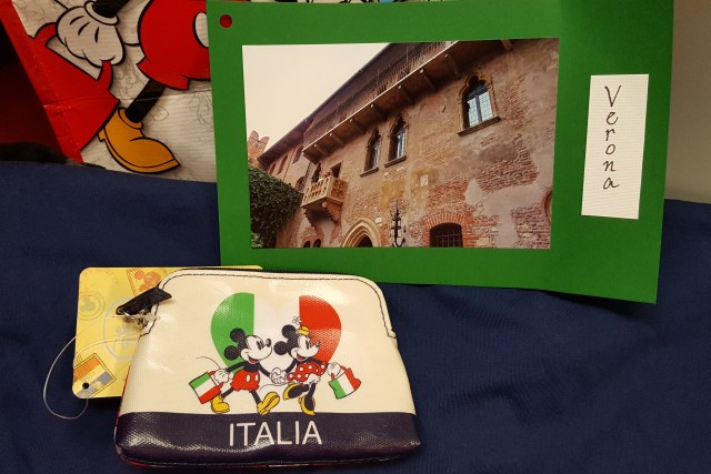 Gifts from Amy's Italy trip