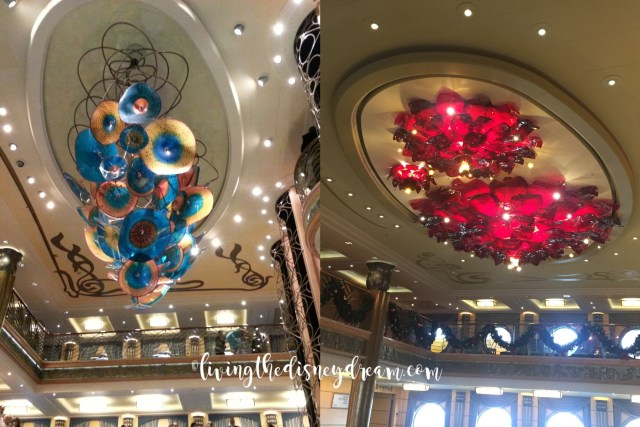 Disney Wonder Chandelier Before and After